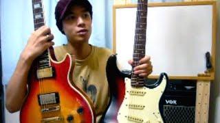 ギターレッスン【ストラトタイプとレスポールタイプ】 thumbnail