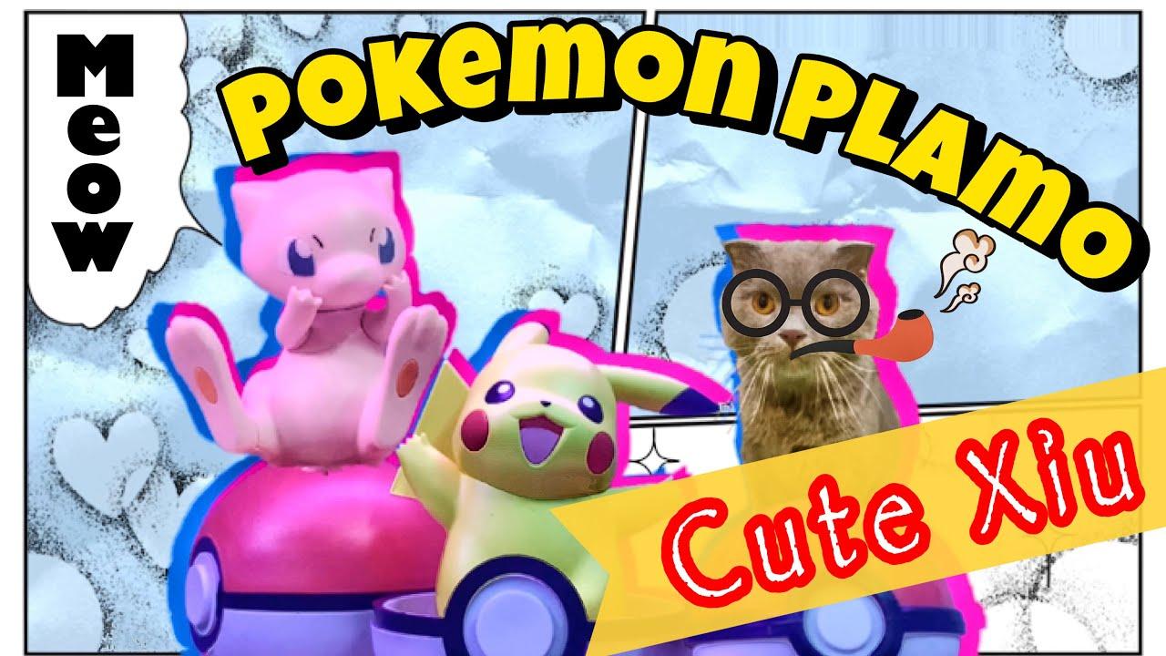 Ráp mô hình Pokémon Mew và Pikachu siêu dễ thương nShop - Games & Hobbies