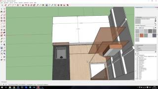 3D-Modell in SketchUp, Teil 2