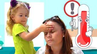 Mama s a imbolnavit | Video educativ pentru copii