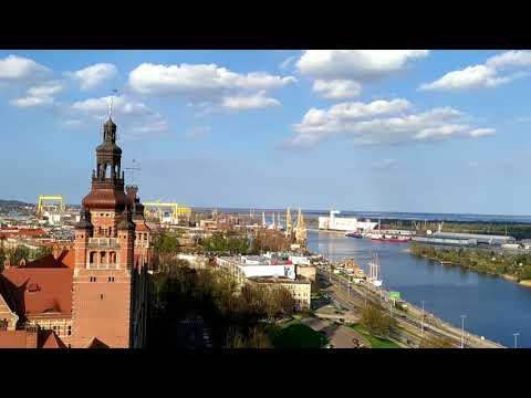 Widok z tarasu Muzeum Narodowego w Szczecinie II