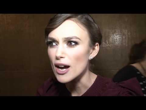 Kiera Knightley talks Russian accents at premiere of A Dangerous Method