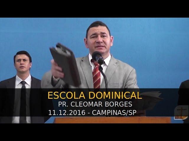 11.12.2016 - Escolinha das Crianças e Escola Dominical   Tabernáculo da Fé Campinas/SP