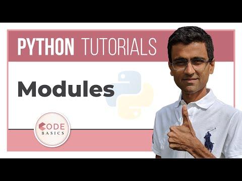 Python Tutorial - 12. Modules