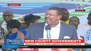Each judge on the supreme court bench must give own verdict on the petition case - Musalia Mudavadi