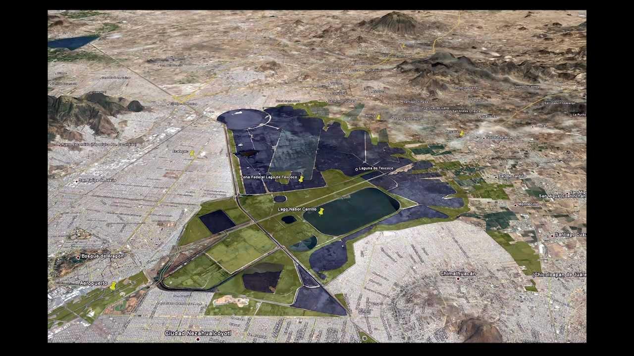 ciudad futura. lago de texcoco - YouTube