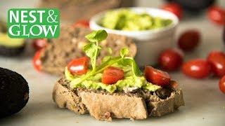 Buckwheat, Almond & Chia Bread - Gluten free, Vegan & High Protein