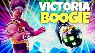 VICTORIA CON BOOGIE BOMB (Fortnite Battle Royale)