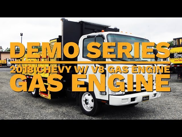 2018 Chevy 4500 W V8 Gas Engine | Truck Demo | Royal Truck & Equipment