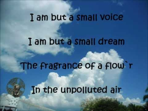 I am but a Small Voice - lyrics to sing with