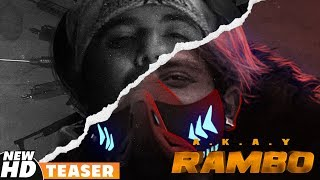 Teaser | Rambo | A KAY | Western Penduz | Releasing On 4th October 2019 | Speed Records