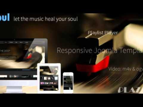 Meloul - Music Responsive Joomla Template