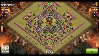 Clash of Clans TH10 vs TH10 [Premature] Giant, Wizard & Witch (GiWiWi) Clan War 3 Star Attack