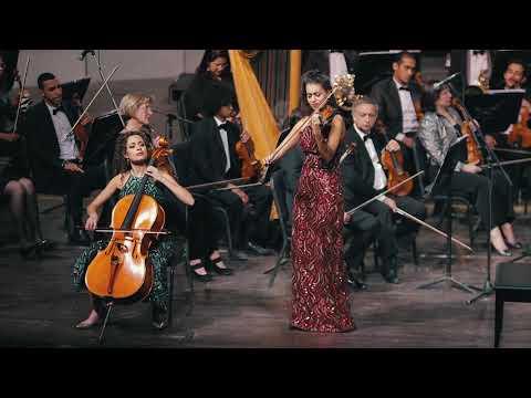 The Ayoub Sisters - Passacaglia (Handel/Halvorsen) Live at Cairo Opera House.