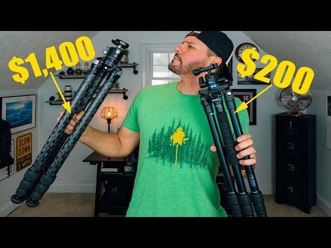 $200 Tripod VS $1,400 Tripod! Landscape Photography