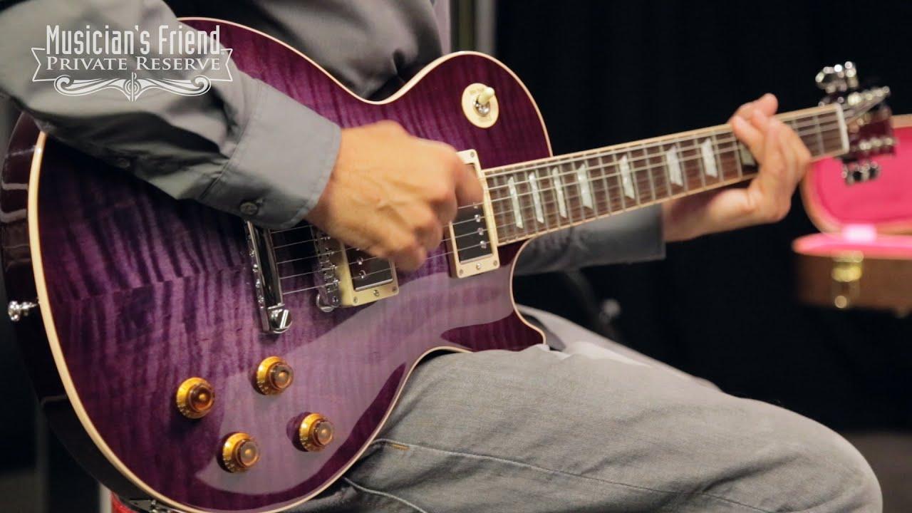Gibson Custom Les Paul Custom Pro Electric Guitar Purple