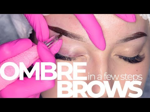 Ombre Brows in a few steps