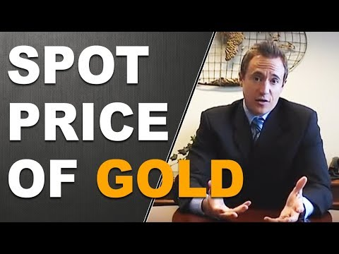 Spot Price of Gold - Gold Bullion Prices