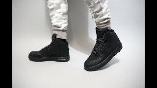 Nike Lunar Force 1 Duckboot '18 on feet
