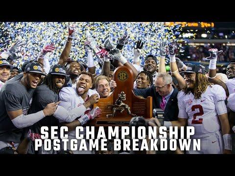 Postgame Report: SEC Championship