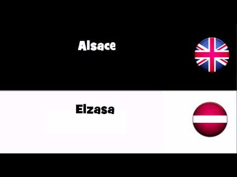 Say it in 20 languages # Alsace