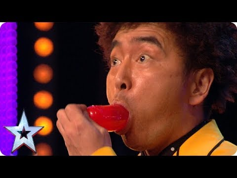 Magician Tanba's DEADLY diet! | BGT Unforgettable Auditions