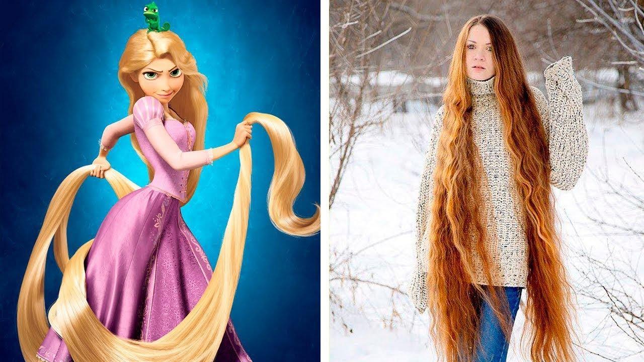 10 Rapunzel Im Wirklichen Leben Youtube