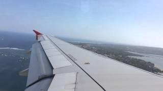 Video Indonesia AirAsia A320 Landing Bali Ngurah Rai Airport download MP3, 3GP, MP4, WEBM, AVI, FLV Juni 2018
