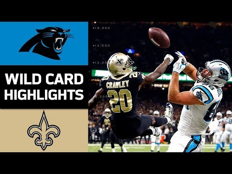 Panthers vs. Saints   NFL Wild Card Game Highlights