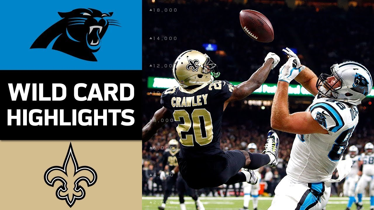 panthers-vs-saints-nfl-wild-card-game-highlights