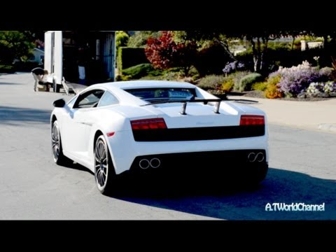 Rare Lamborghini Gallardo LP560 2 50 Anniversary Engine Starts Up U0026 Driving!
