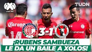 ¡Partidazo de 'Sambu' y Toluca liquida a Xolos! | Toluca 3-1 Xolos AP-2017 | TUDN