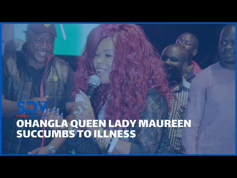 Family of Ohangla Queen-Lady Maureen speak after she passed on as Raila joins in mourning the star