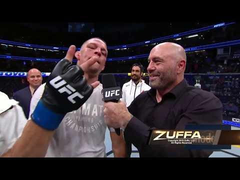 Смотреть клип UFC 241: Nate Diaz Octagon Interview онлайн бесплатно в качестве