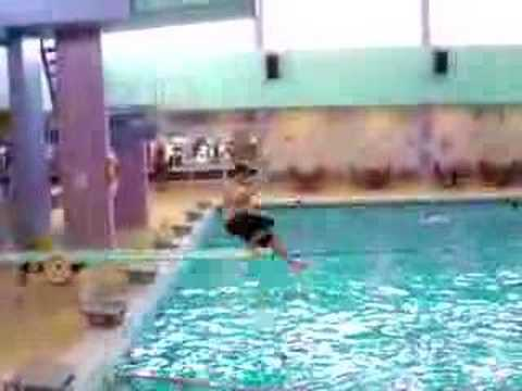 Fat Guy On Diving Board 90