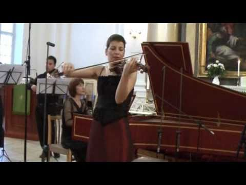Bach Violin Concerto in E major - Marta Abraham  1.Allegro (1/3)