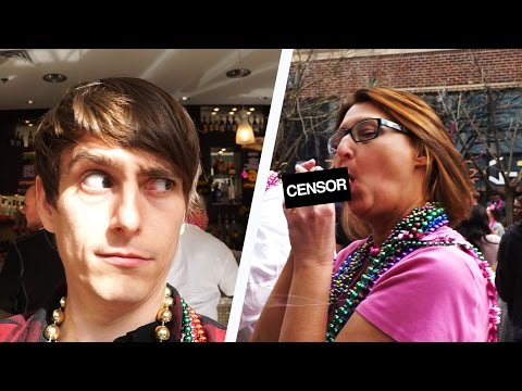 DID SHE REALLY JUST DO THAT!? - Mardi Gras Madness