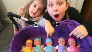 Learn Colors with Baby Dolls for Children Toddlers and Babies! Kids Learn Colours Video
