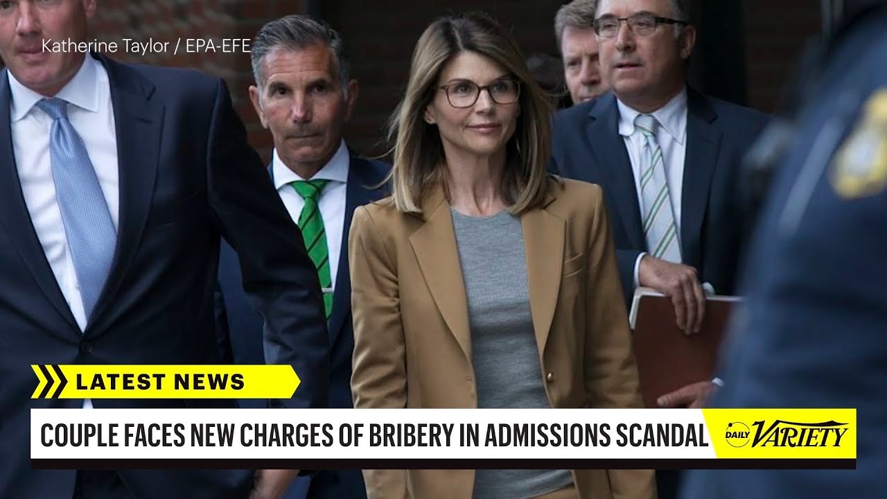 Lori Loughlin, Felicity Huffman Face Charges in College Admissions Scandal