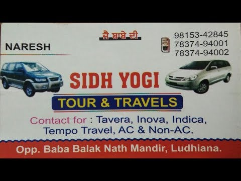 Interview with Sidh Yogi Tours & Travels Ludhiana Punjab