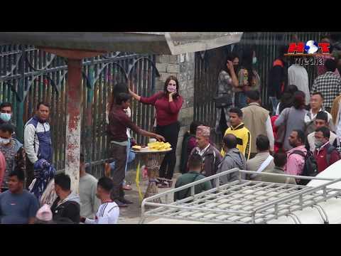 रत्नपार्कमा यसरी हुन्छ दिउसै ब्यापार Ratnapark Kathmandu