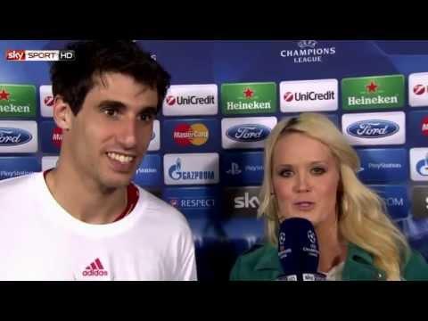 FC Barcelona - FC Bayern München 0:3 / Champions League 2013 - Javi Martinez Interview