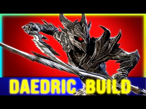 Skyrim Builds - Best DAEDRIC Build Guide (Warrior or Archer Mage)!