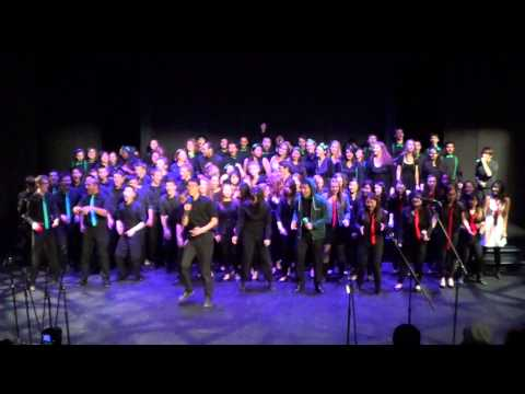 Group song - Can't Hold Us - a cappella