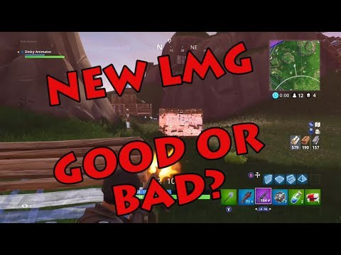 Dinky Fortnite Tips - The New LMG - Good or Bad