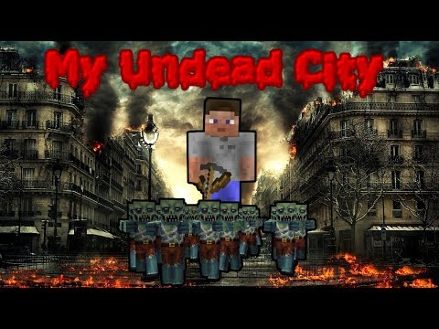 My Undead City (Minecraft Feature Film) - Minecraft Zombie Apocalypse Horror Machinima