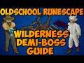 Oldschool Runescape - Scorpia, Crazy Archaelogist, & Chaos Fanatic Guide | Wildy Demi-Boss Guide