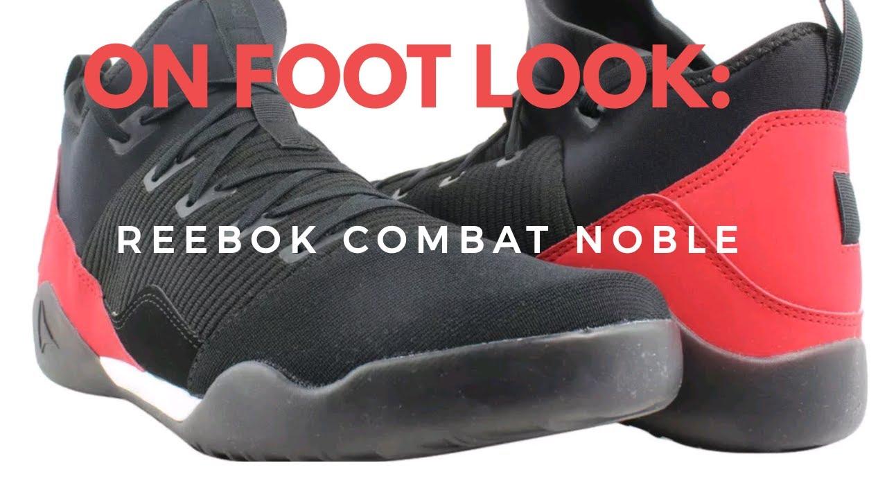 On Foot Look  Reebok Combat Noble Trainer b3bae804d