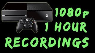 Using Your Xbox One As A 1080 Capture Device   1 Hour Recording