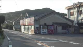 国道197号 大分市佐賀関半島 前面展望